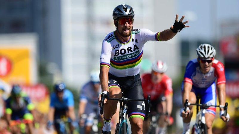 8508d33852a82 Tour de France: Skvelý Peter Sagan ovládol druhú etapu a ide do žltého  dresu!