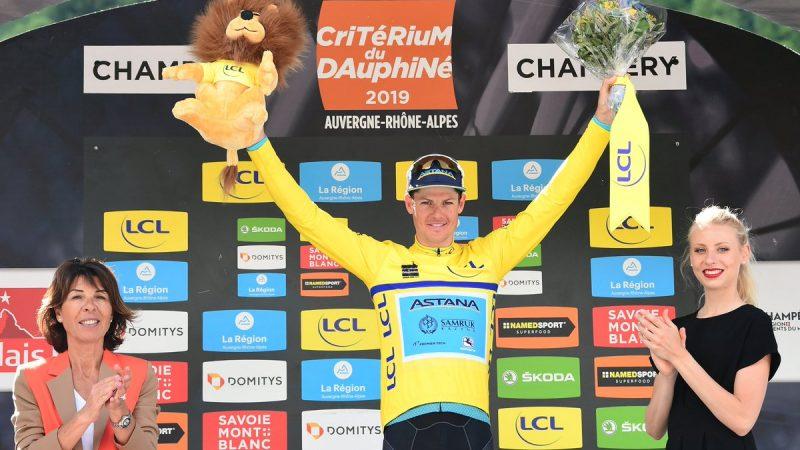 Jakob Fuglsang na Critérium du Dauphiné