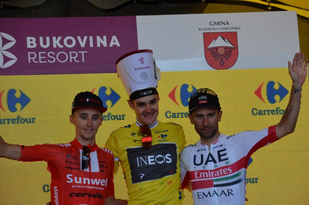 Tour de Pologne podium