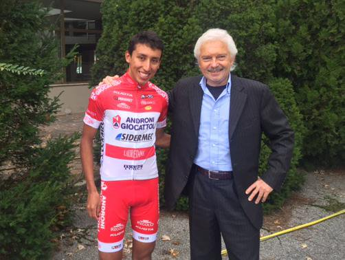 Gianni Savio a Egan Berna