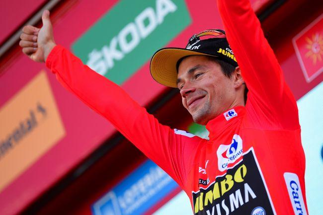 Roglič 1. etapa Vuelta 2020