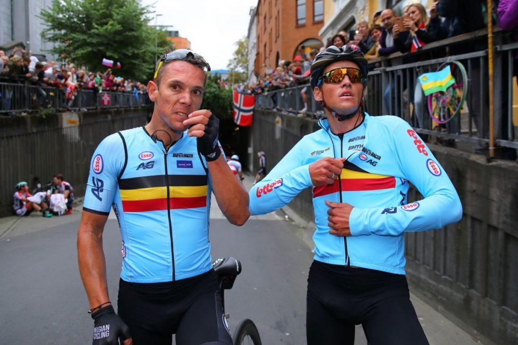 Gilbert a Van Avermaet