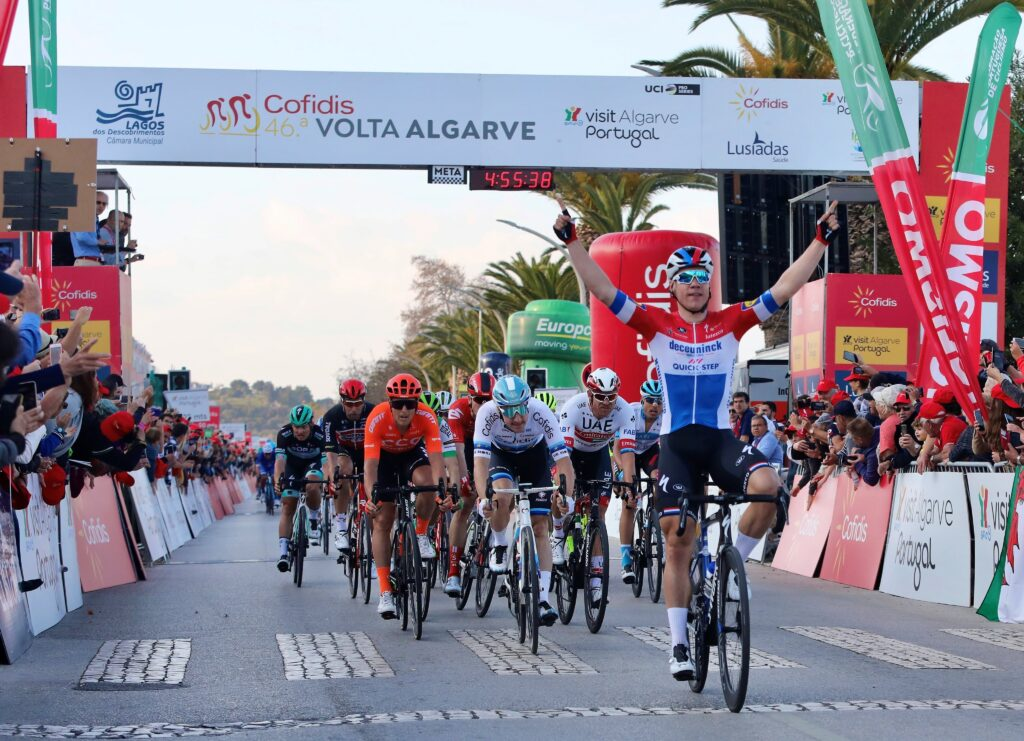 Fabio Jakobsen Okolo Algarve