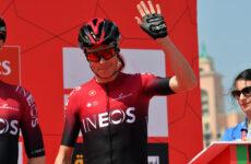 Chris Froome na UAE Tour 2020