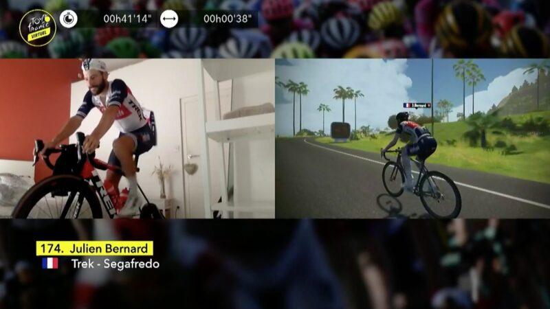 Julien Bernard Virtual Tour de France
