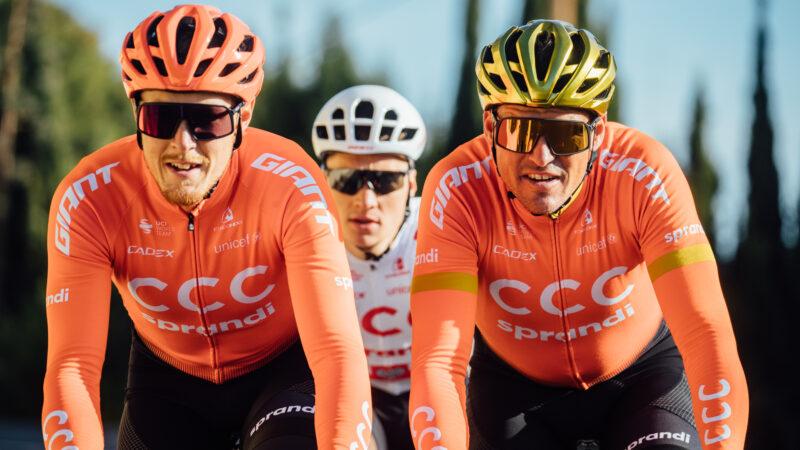Trentin Van Avermaet CCC Team