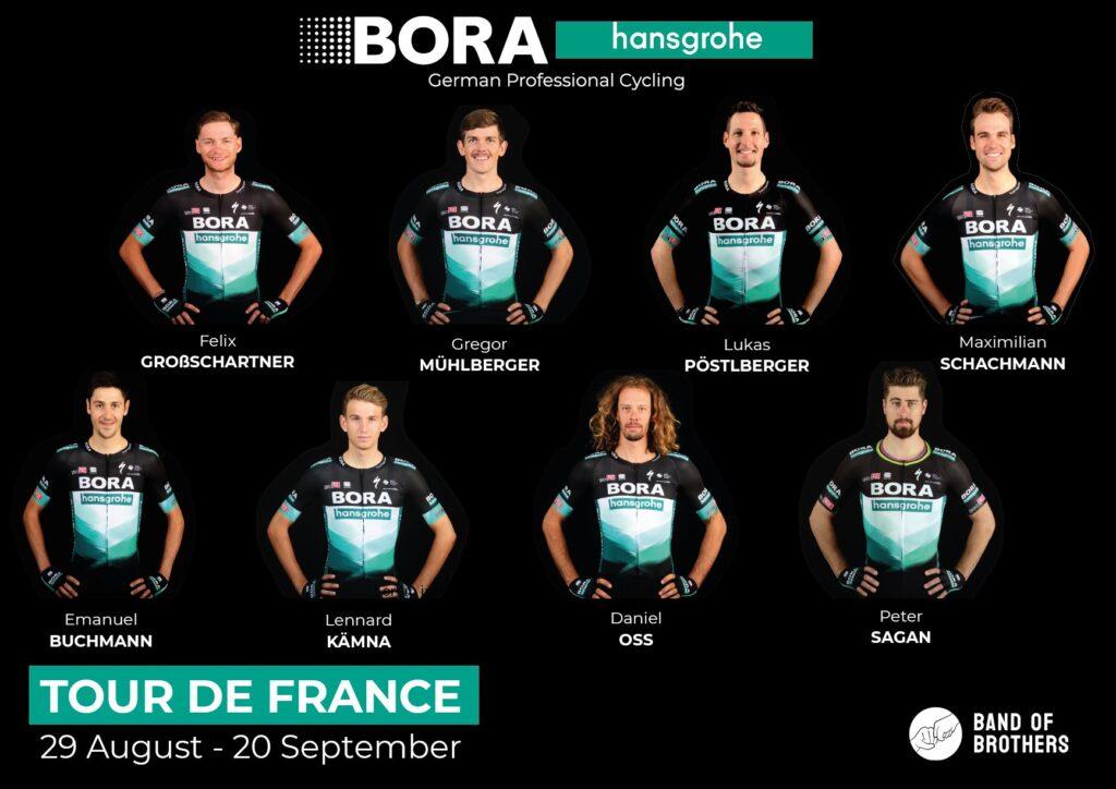 BORA - hansgrohe na Tour de France