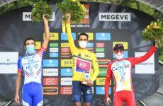 Pódium Critérium du Dauphiné 2020