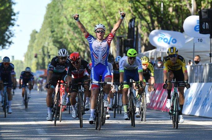 Démare pred Miláno - San Remo 2020