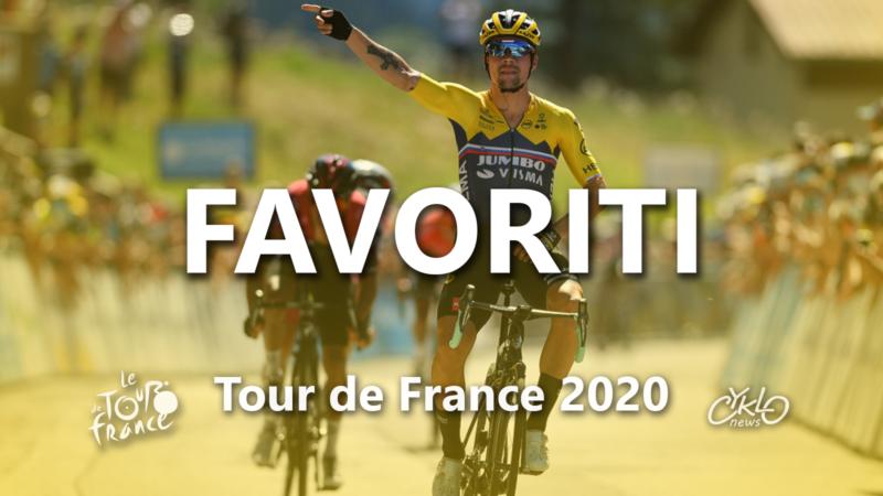 Tour de France 2020 favoriti