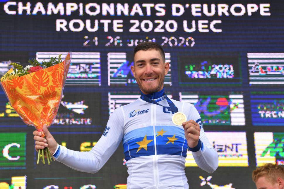 Giacomo Nizzolo po triumfe na ME. Tour de France 2020 zelený dres