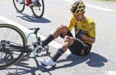 Roglič spadol pred Tour de France
