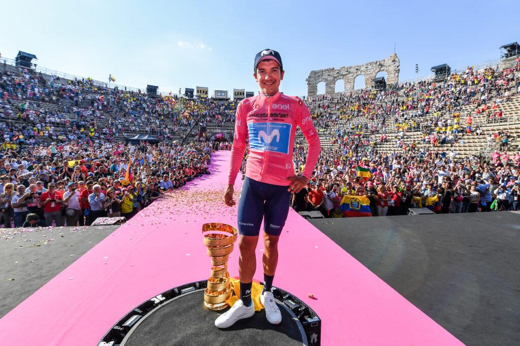 Giro d'Italia dresy ružový