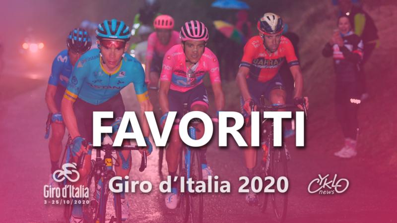 Giro d'Italia 2020 favoriti