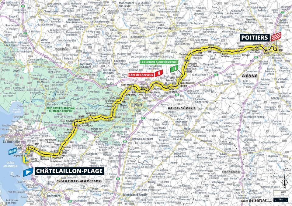 11. etapa Tour de France 2020