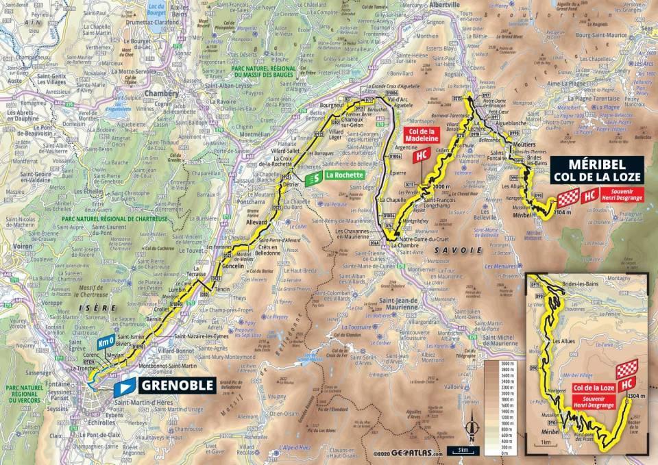 17. etapa Tour de France 2020