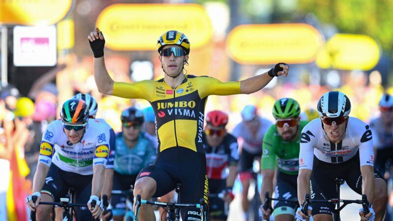 Wout van Aert 5. etapa Tour de France 2020