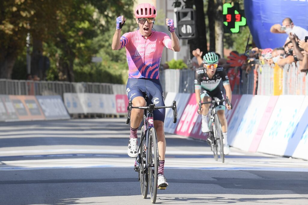 Michael Woods 3. etapa Tirreno-Adriatico 2020 pred Majstrovstvá sveta