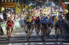 Van Aert 7. etapa Tour de France 2020