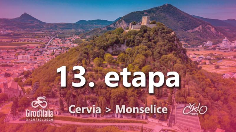 13. etapa Giro d'Italia 2020