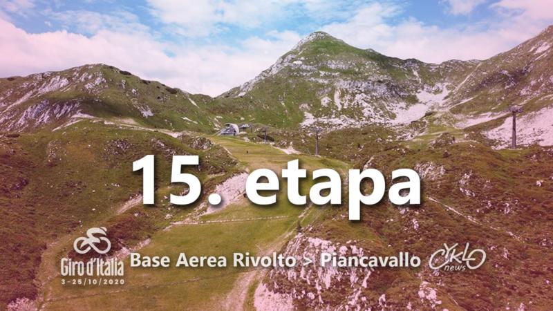 15. etapa Giro d'Italia 2020