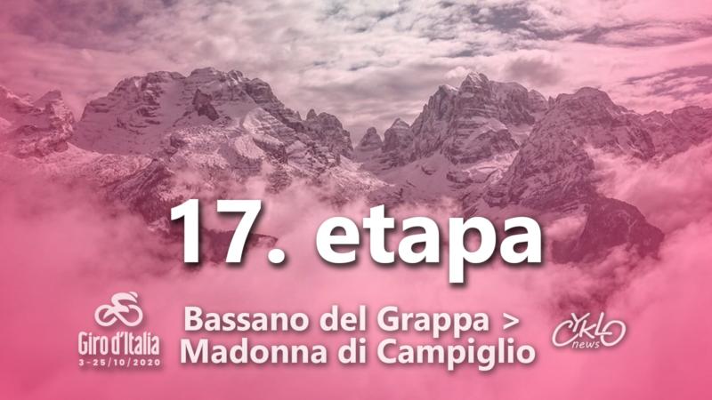 17. etapa Giro d'Italia 2020