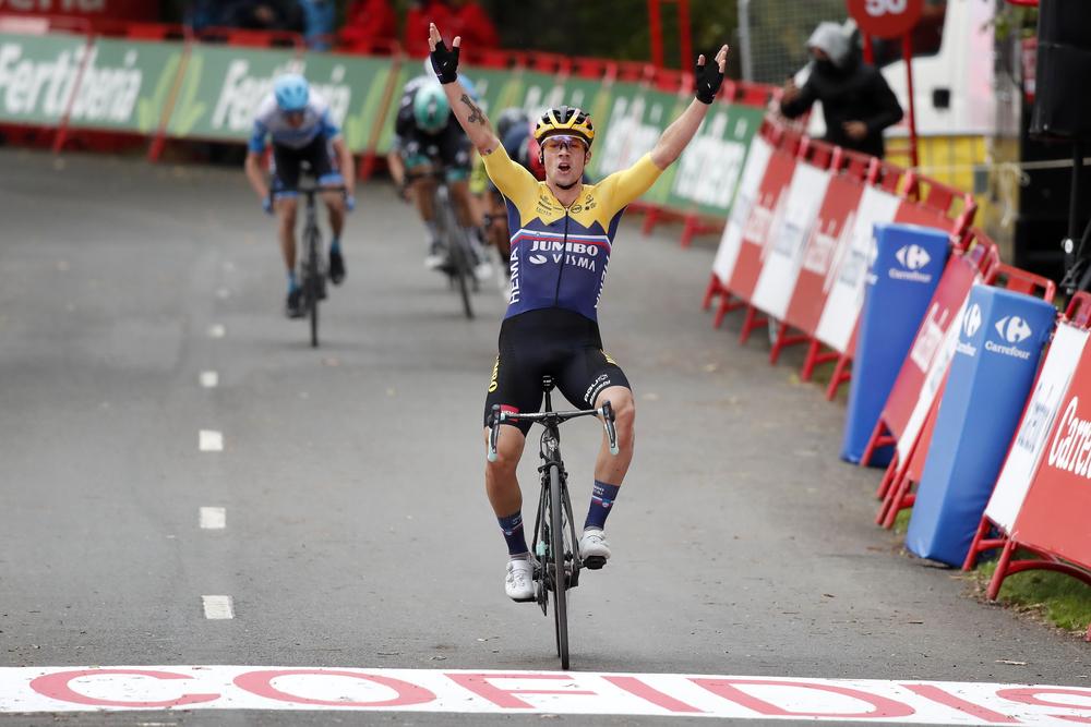 Primož Roglič 1. etapa Vuelta 2020