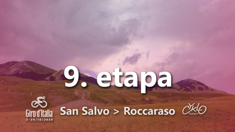9. etapa Giro d'Italia 2020 preview