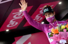 Peter Sagan po 4. etape Giro d'Italia