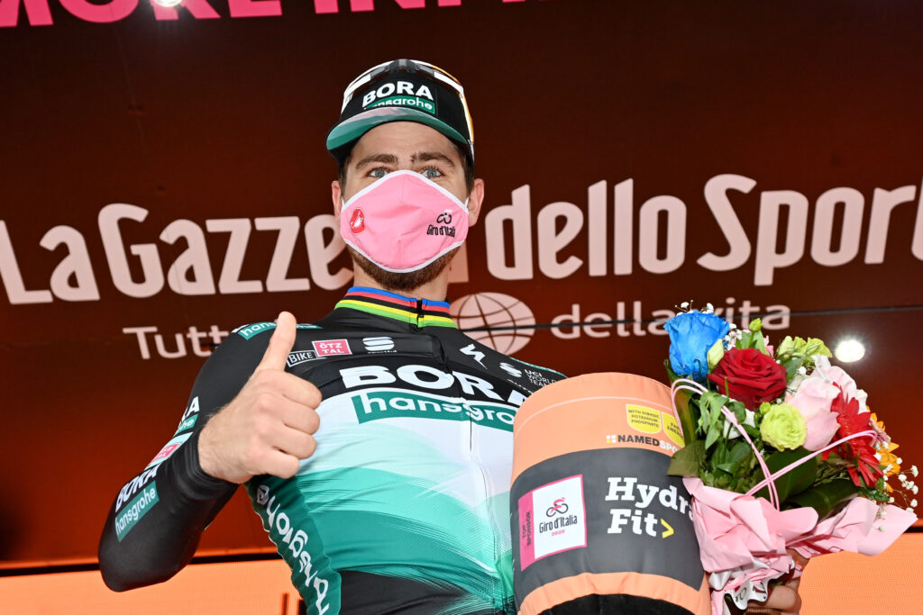 Peter Sagan po 10. etape Giro d'Italia