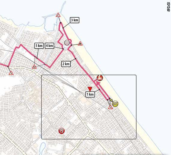 11. etapa Giro d'Italia 2020 posledné kilometre