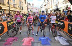 Giro d'Italia 2021 štartová listina