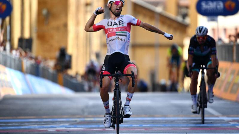 Ulissi víťazí v 2. etape na Giro d'Italia