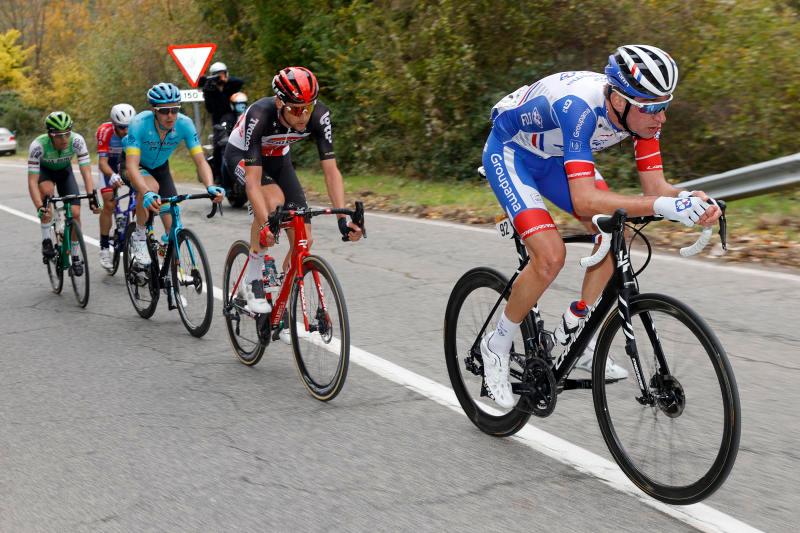 únik počas 2. etapy Vuelta a Espaňa 2020