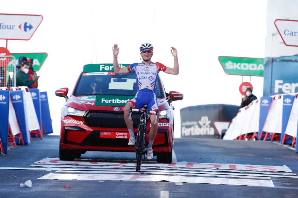 David Gaudu 17. etapa Vuelta a España 2020