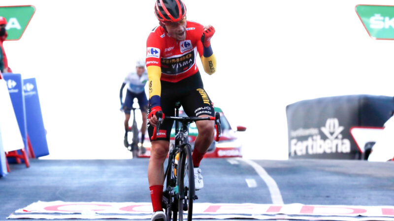 Roglič 17. etapa Vuelta 2020