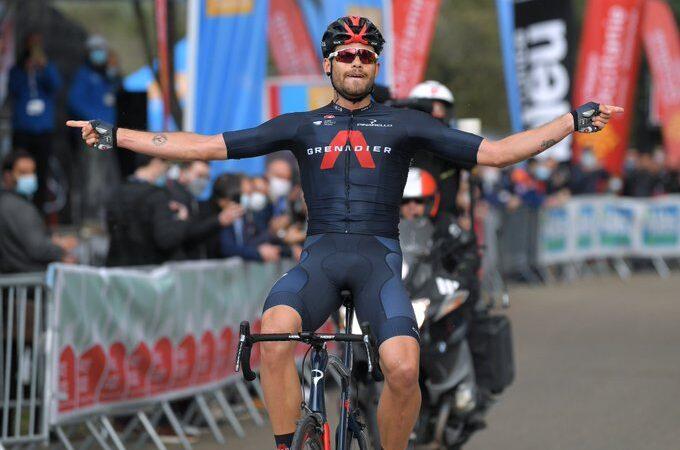 Filippo Ganna víťazom 4. etapa Étoile de Besseges