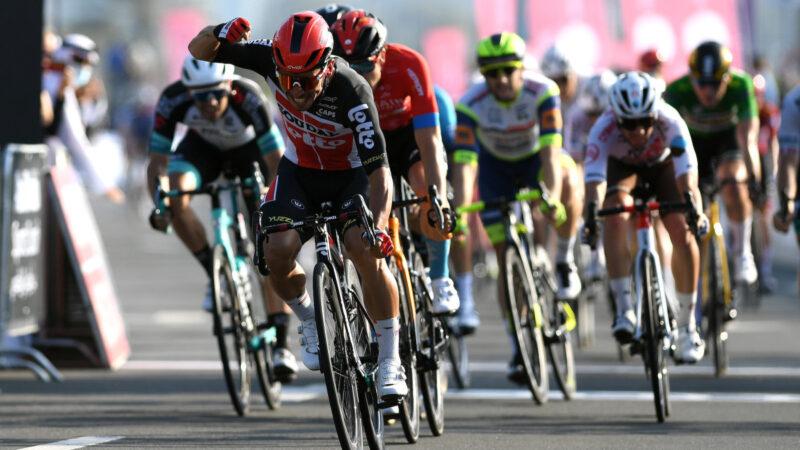 Caleb Ewan UAE Tour 2021