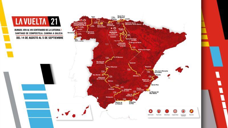 La Vuelta Ciclista a Espaňa 2021