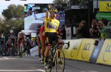6. etapa Paríž - Nice 2021 Primož Roglič