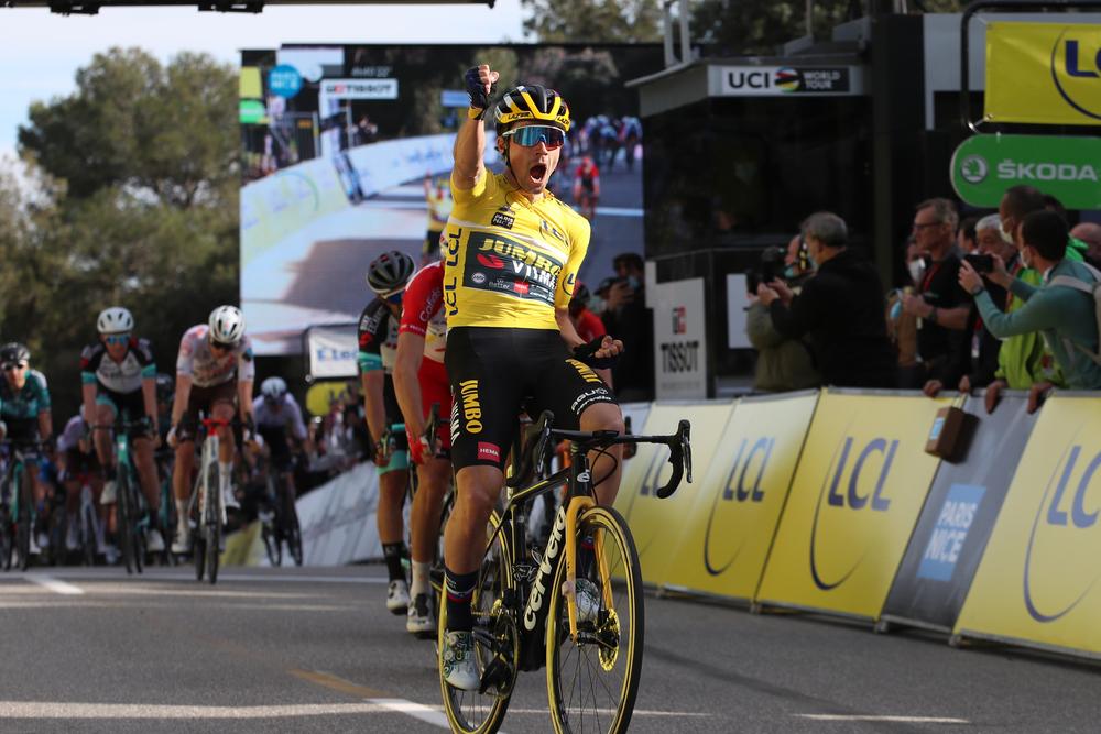 Stage 6 Paris - Nice 2021 Primož Roglič