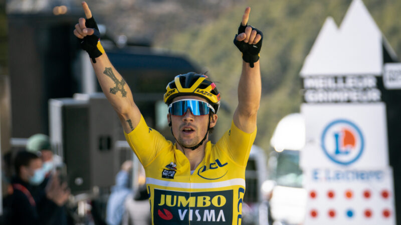 Primož Roglič 7. etapa Paríž - Nice 2021
