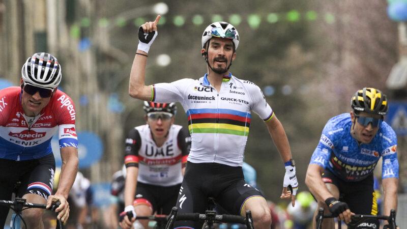 2. etapa Tirreno - Adriatico 2021: Alaphilippe