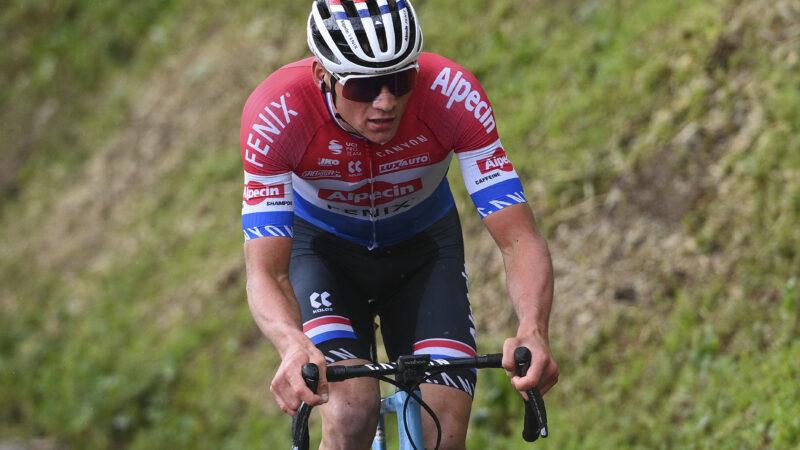 Mathieu van der Poel 2. etapa Okolo Švajčiarska 2021