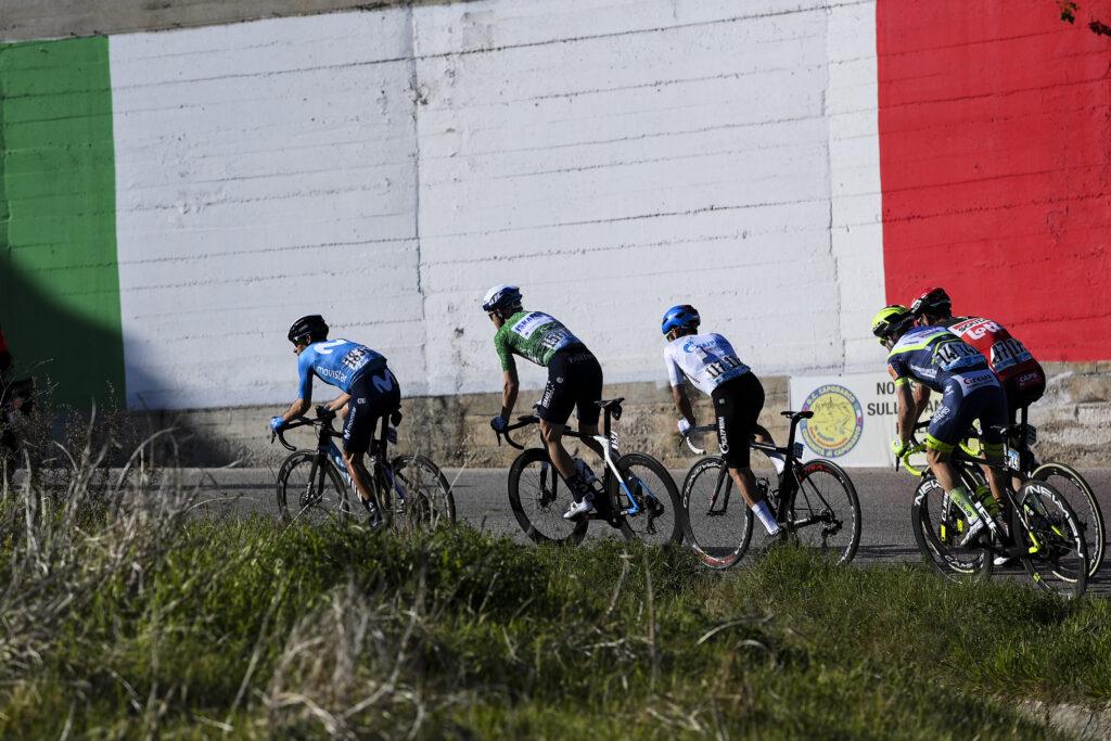 Únik v 6. etape Tirreno - Adriatico 2021