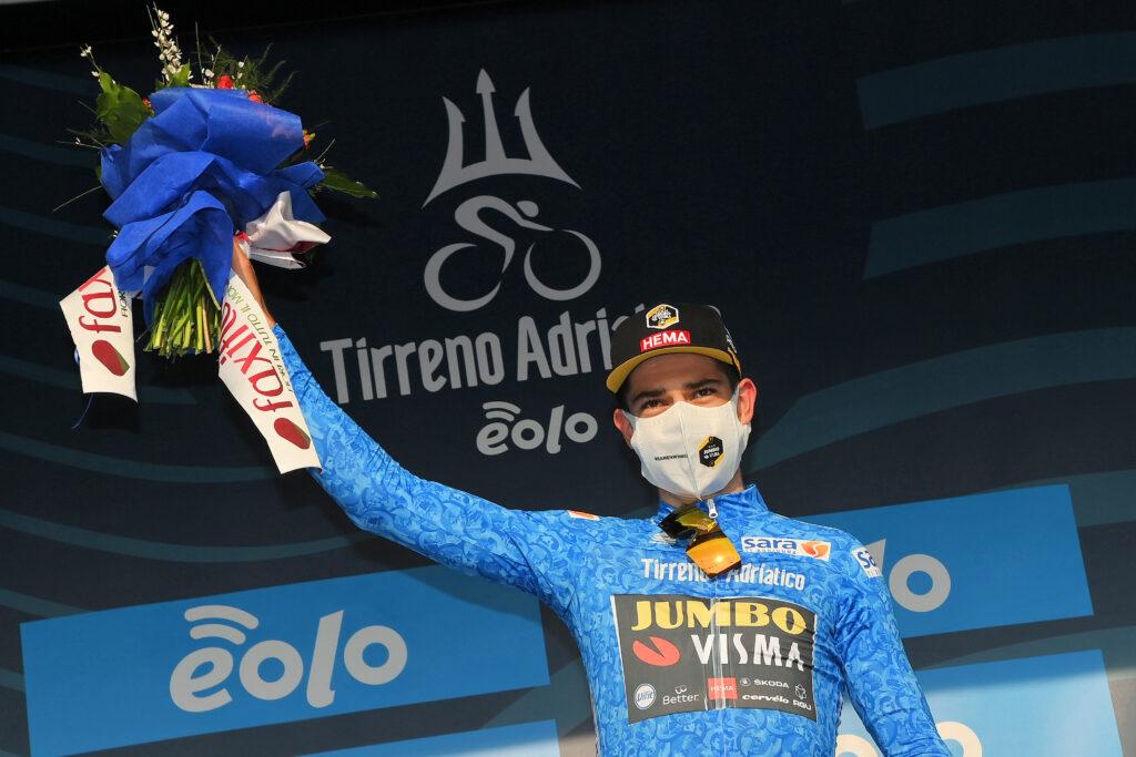 Wout van Aert 1. etapa Tirreno - Adriatico 2020