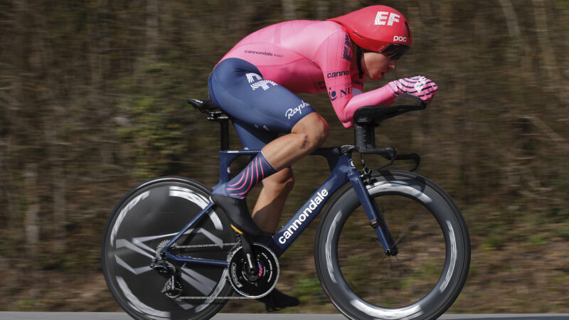 Stefan Bissegger 3. etapa Paríž - Nice 2021