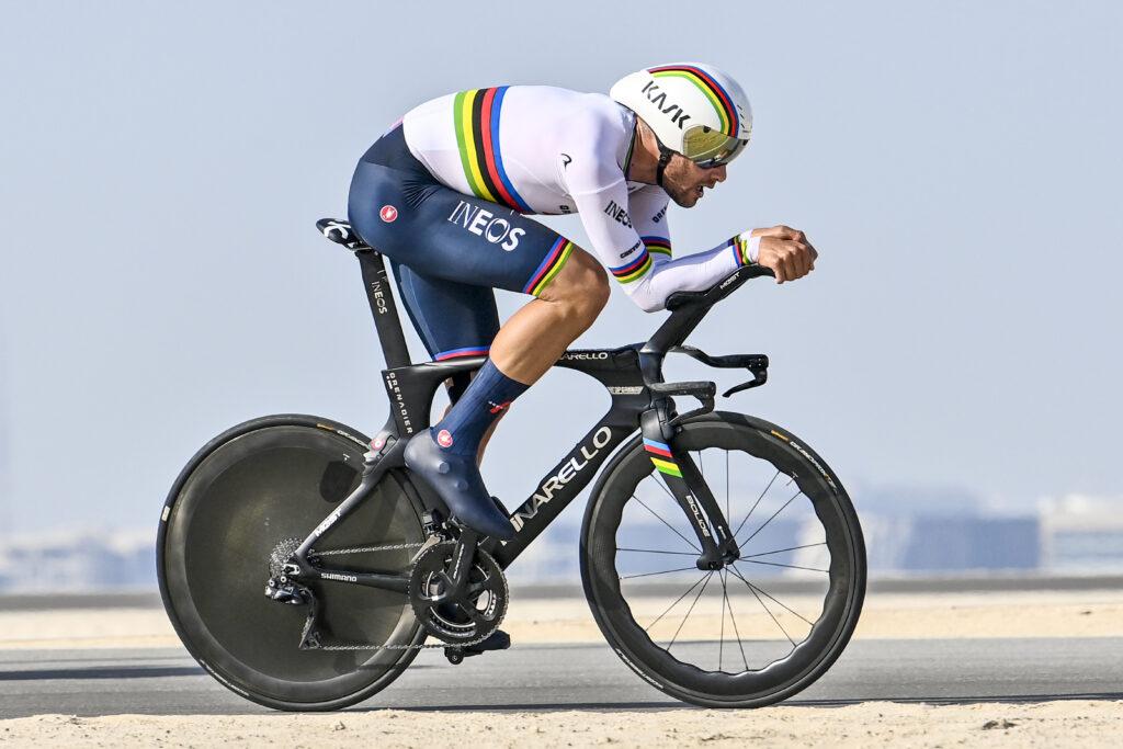 7. etapa Tirreno - Adriatico 2021 poradie Filippo Ganna