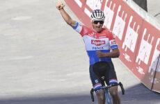 Mathieu van der Poel 3. etapa Okolo Švajčiarska 2021