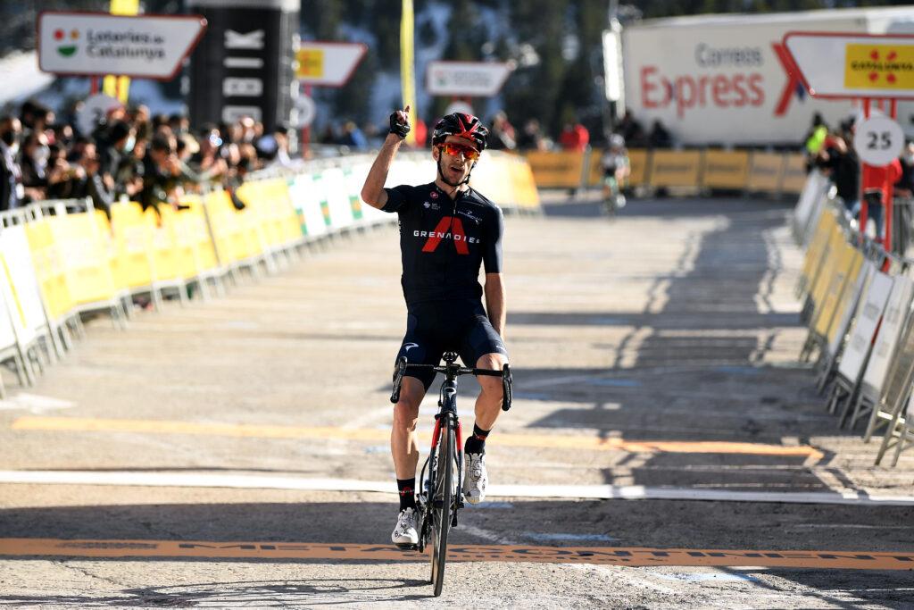 Adam Yates 3. etapa Okolo Katalánska 2021